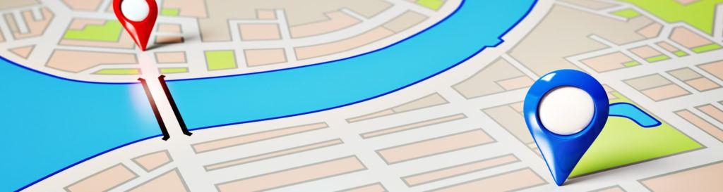 Carte avec pointeur 2